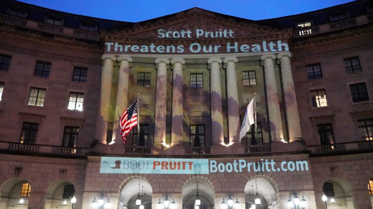 EPA Union Also Wants to Boot Pruitt