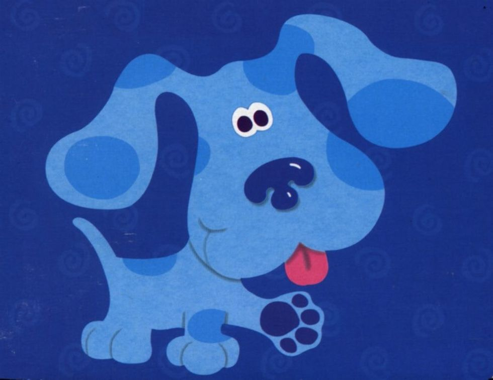 Top Five Blue's Clues Blue Wants To Play A Song Game Watch