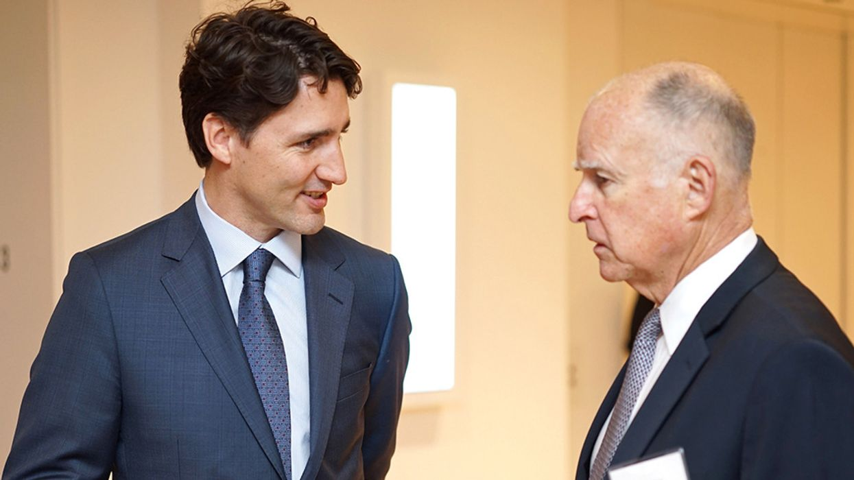 Jerry Brown and Justin Trudeau: Climate Advocates, or Hypocrites?