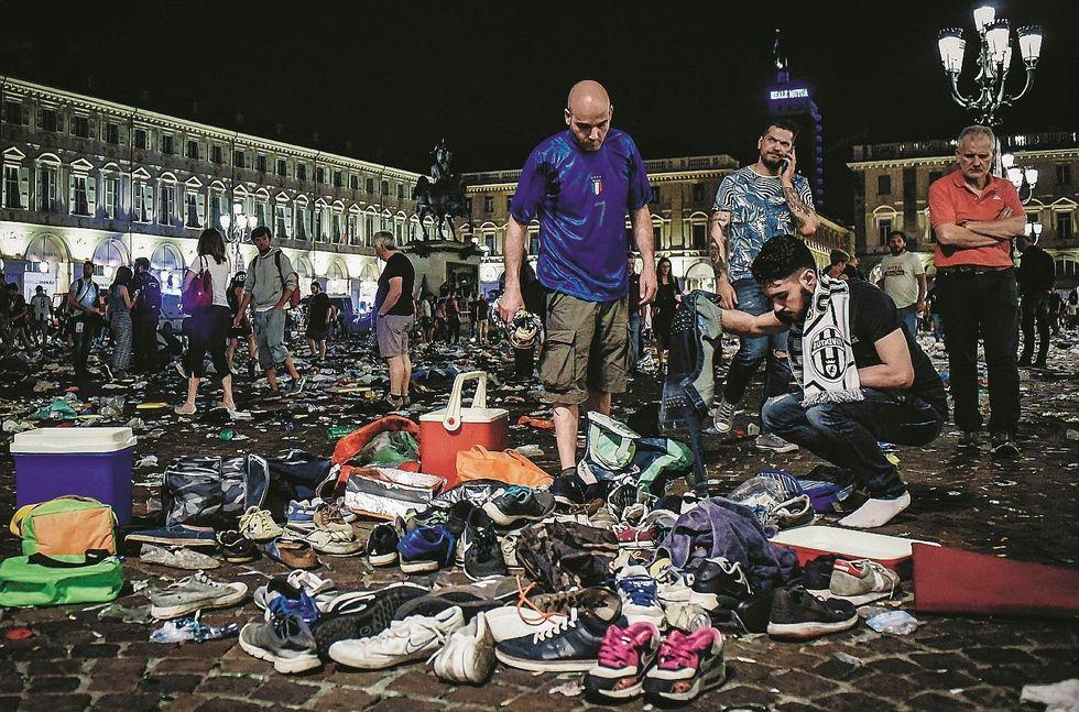 Dieci ladri africani dietro il macello di Torino