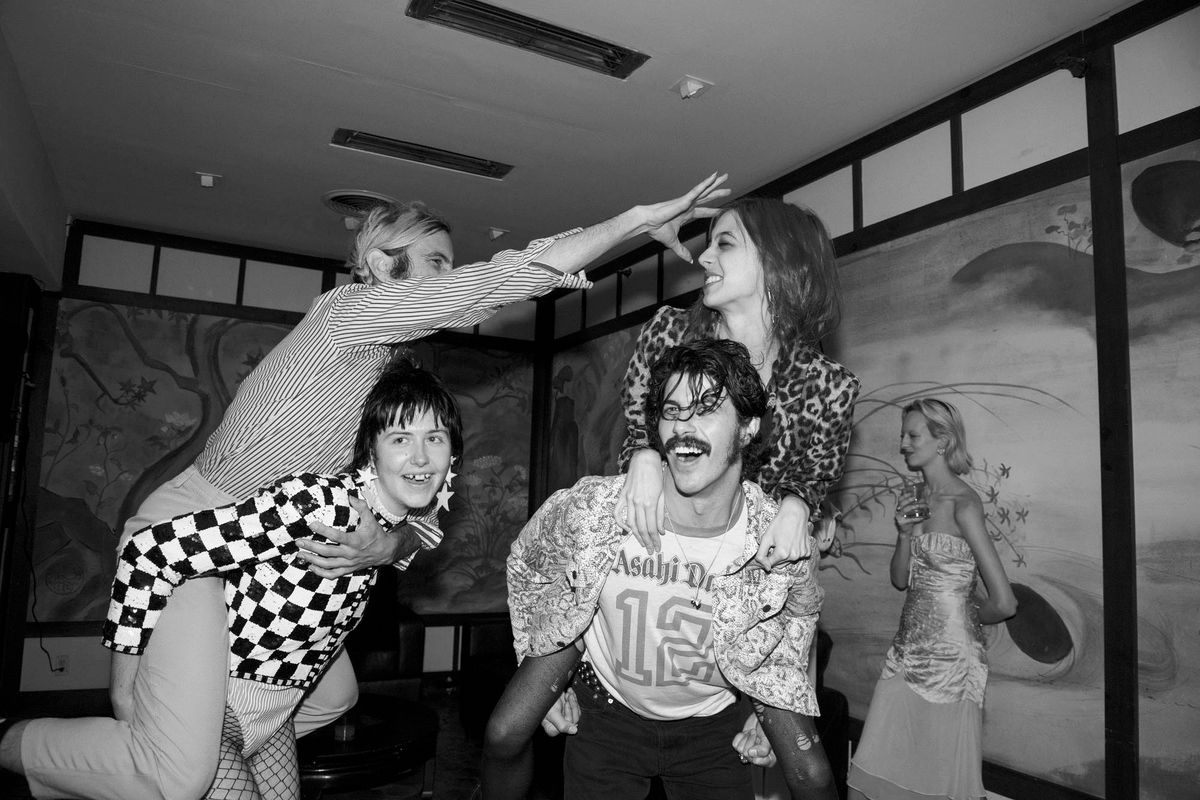 All the Debauchery from GCDS' Campaign Launch, Caught on Camera