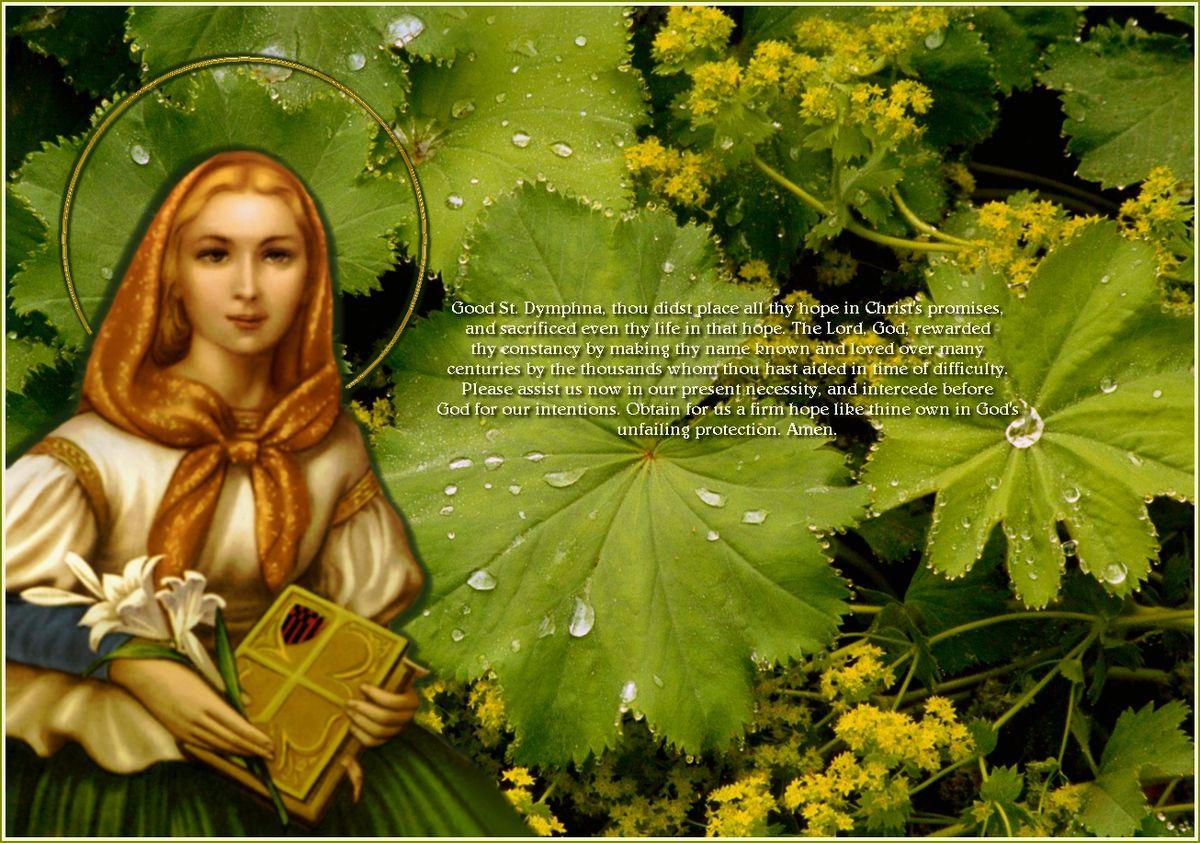 St. Dymphna's Life, Devotion and Prayers