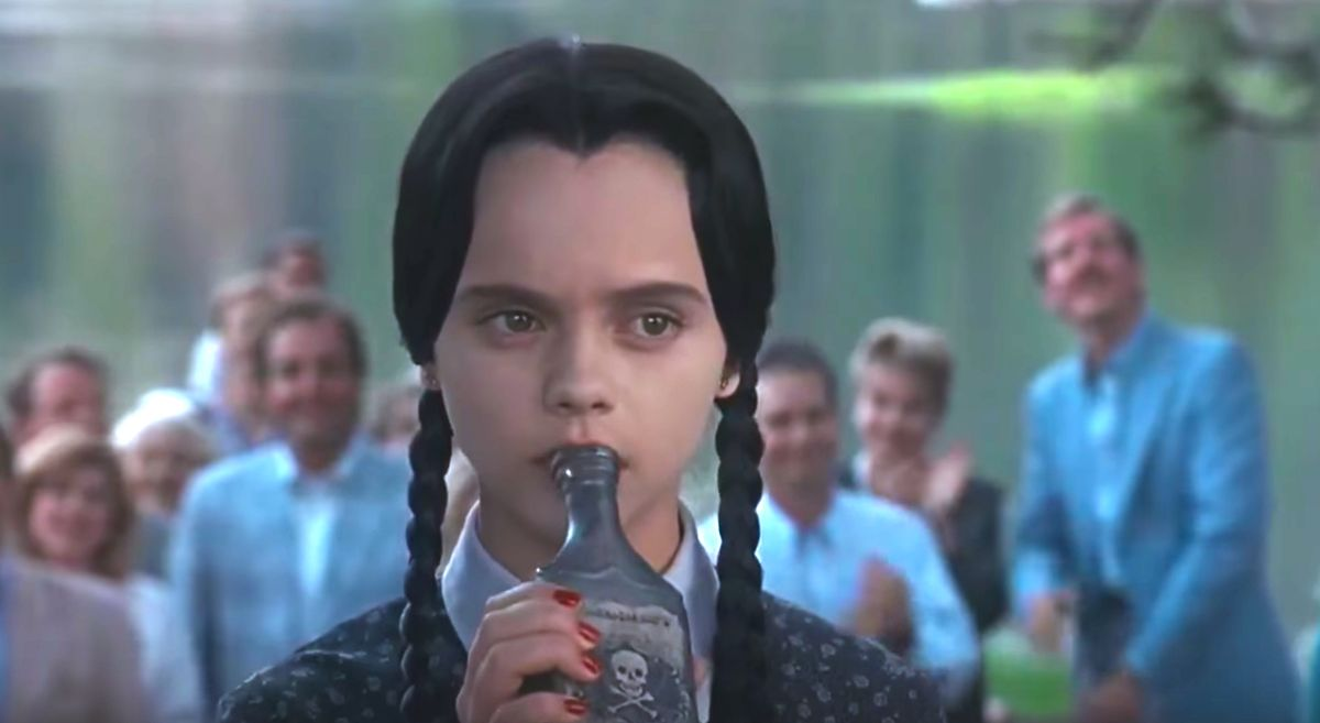 10 Wednesday Addams One-Liners Most College Girls Can Relate To Every Day Of The Week