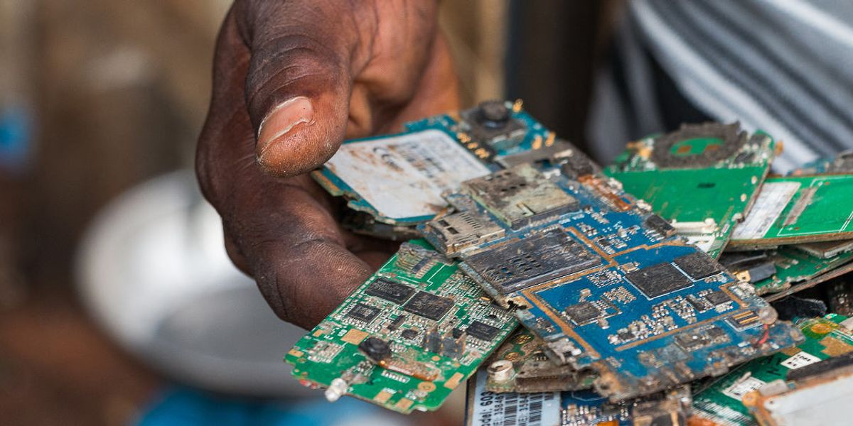 The world is sending tons of illegal, electronic waste to Nigeria: Report