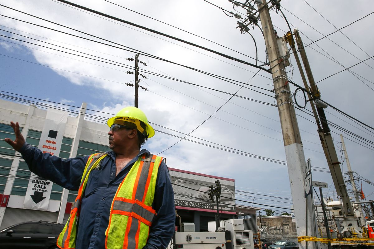 All of Puerto Rico Is Without Power