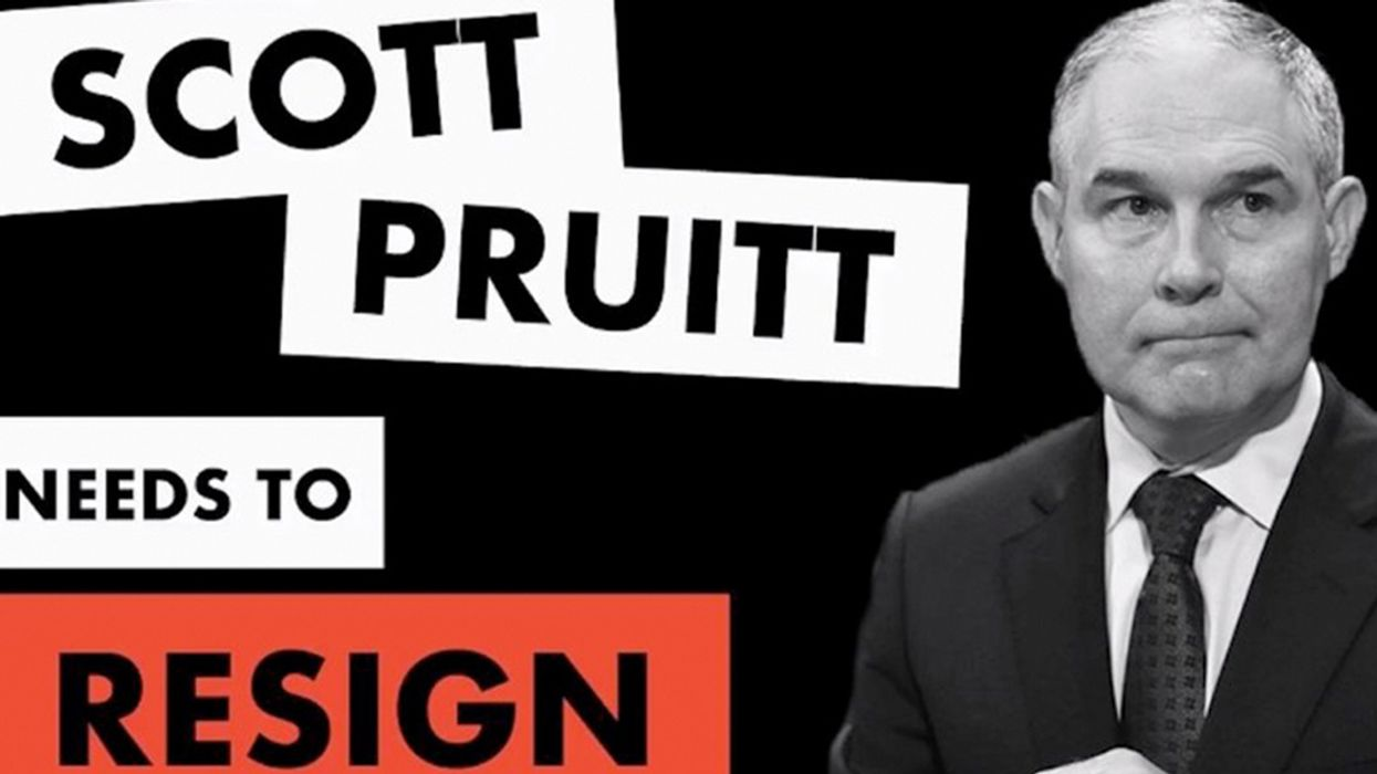 Record Number of Lawmakers Sign Resolution Calling for Pruitt's Resignation