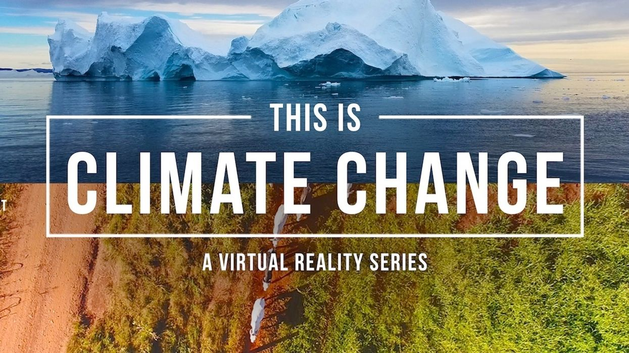 Immersive Docu-Series Lets You 'See' Climate Change in Virtual Reality