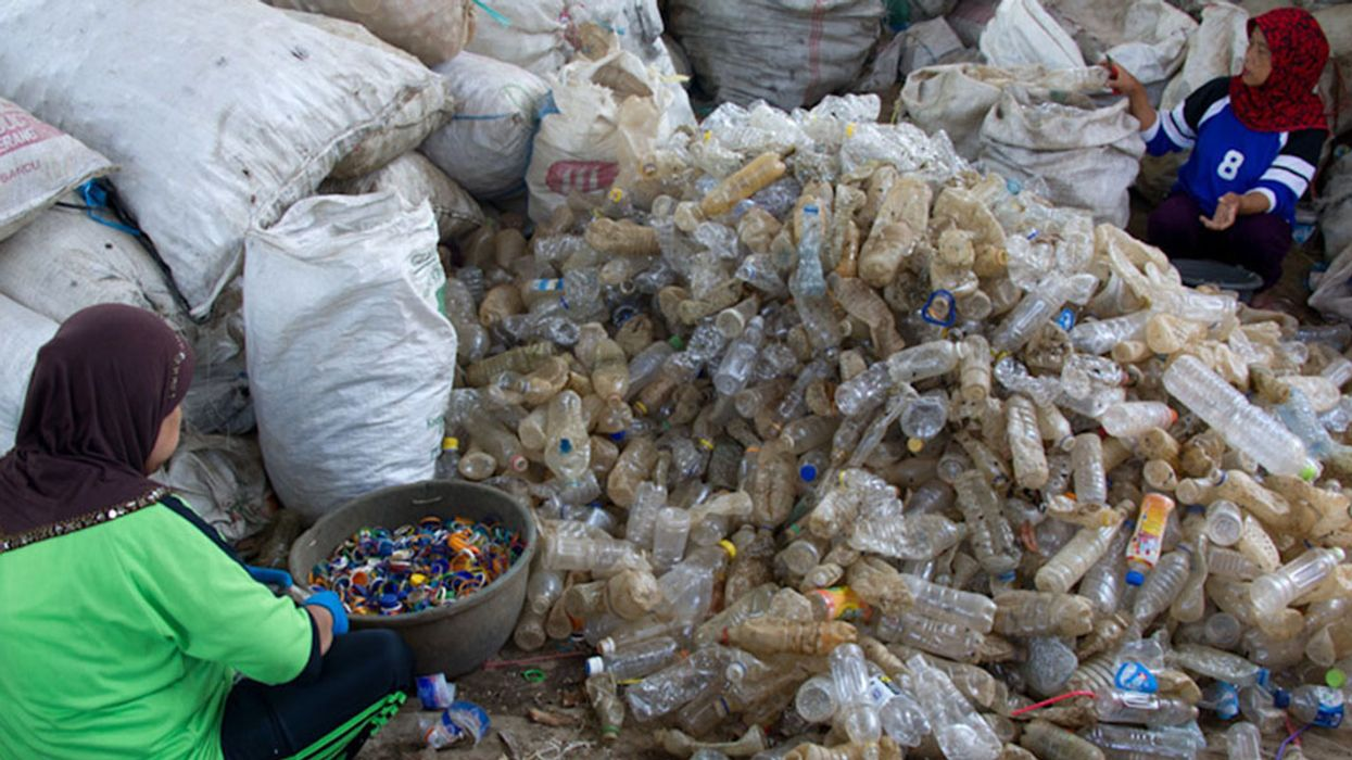 Indonesia Calls in the Army to Fight Plastic Enemy