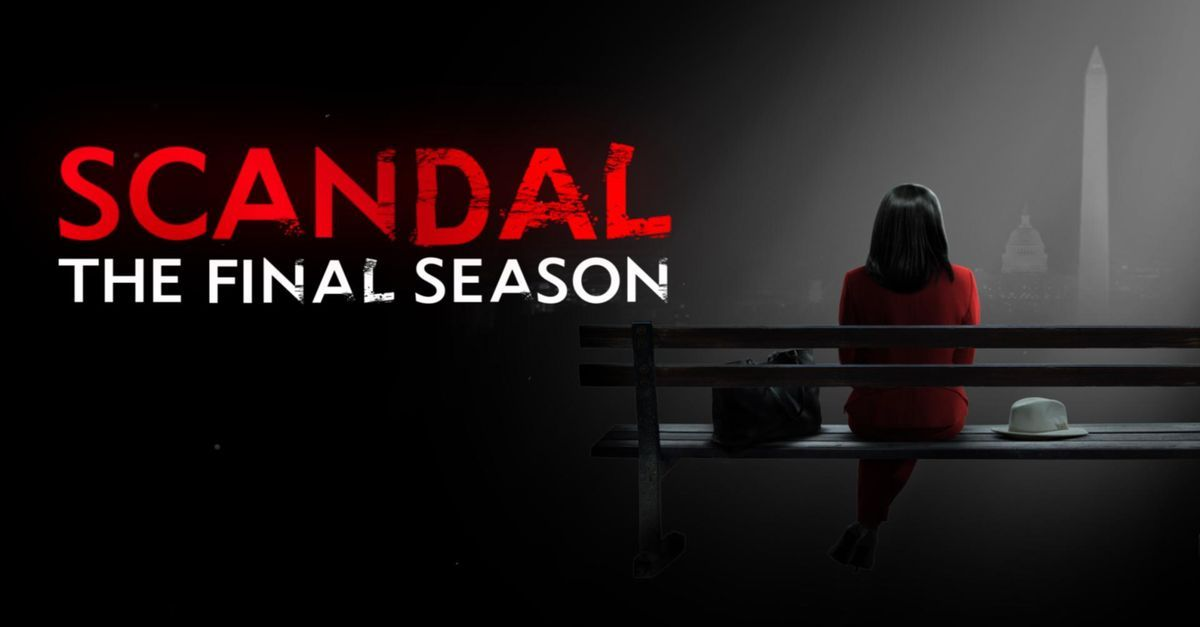 """A Thank You Letter To """"Scandal"""""""