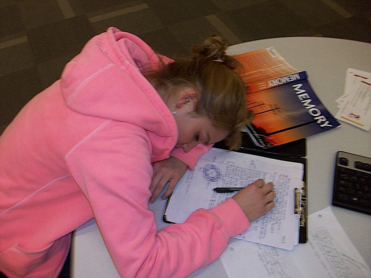 What To Do To Avoid Catching Some Z's While Studying