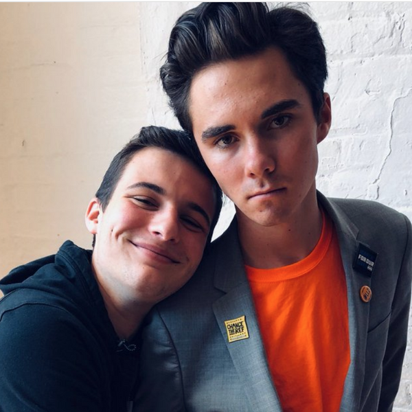 Are Cameron Kasky and David Hogg Prom Dates?