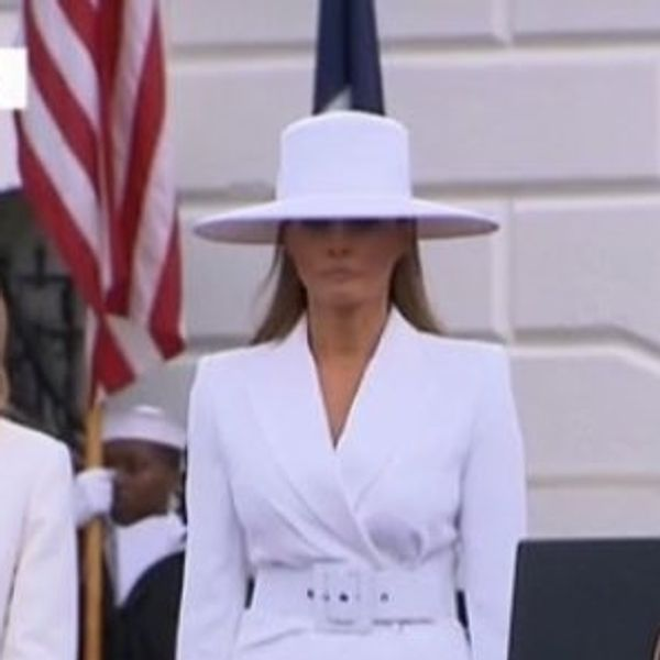 Melania Trump In Her 'Formation' Hat Is the New Hottest Meme