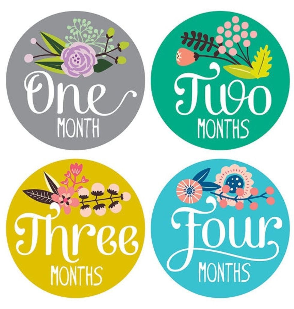 21 Gorgeous And Fun Baby Month By Month Picture Ideas Motherly