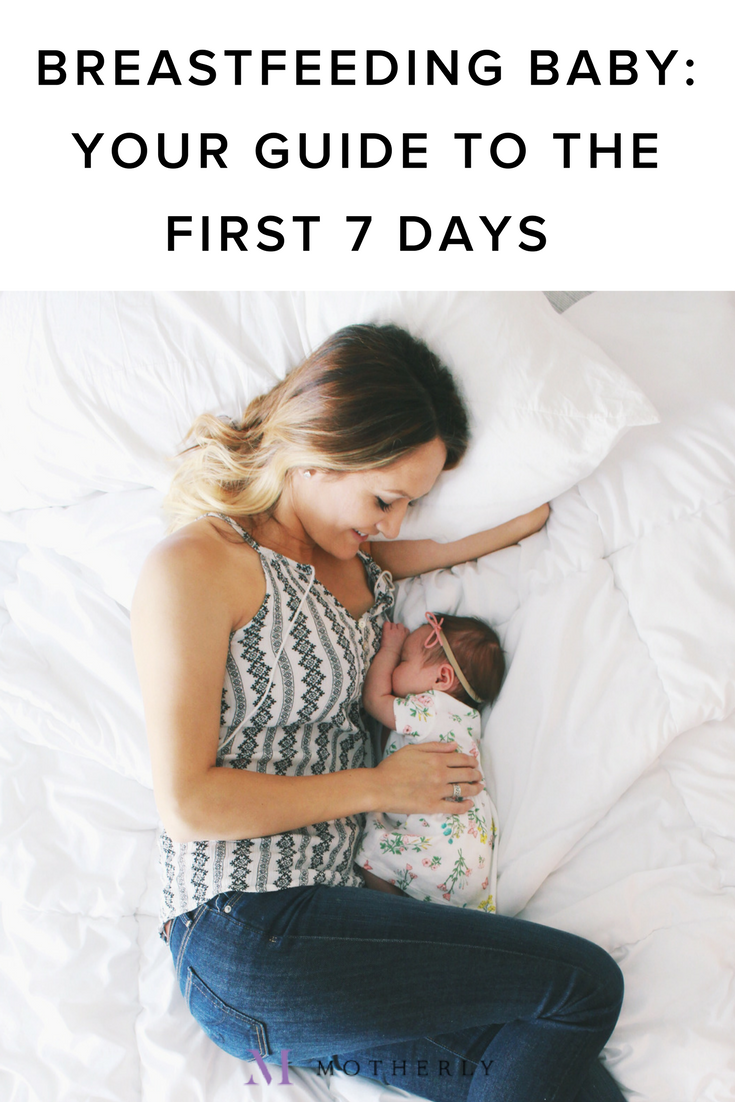 1fd2b275c3ac9 Breastfeeding your newborn: Your guide to the first 7 days of ...