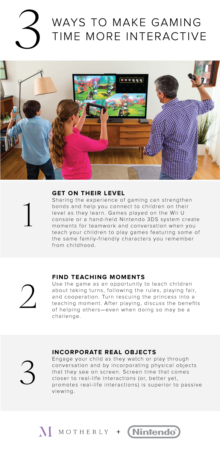 Game on: Smart ways to play as a family, at every stage