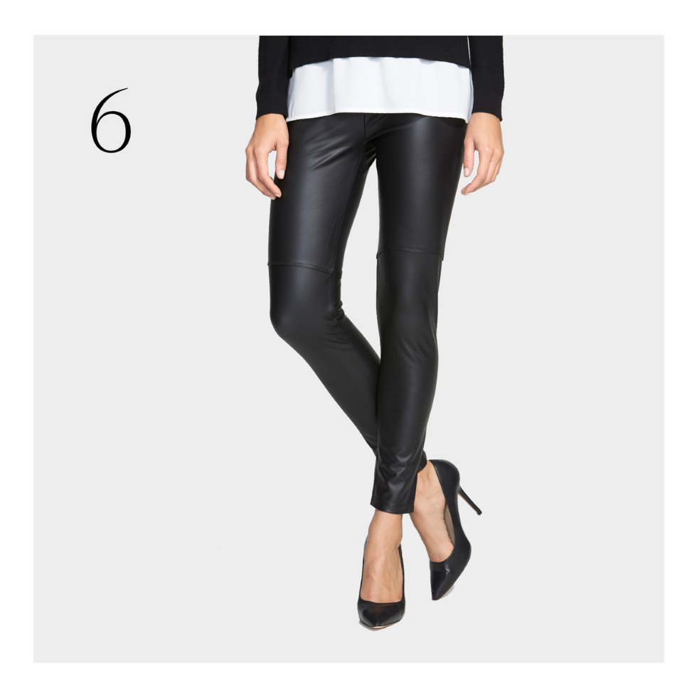 270c38f564a96 The get-your-sexy-back leggings: Faux Leather Leggings from Nordstrom