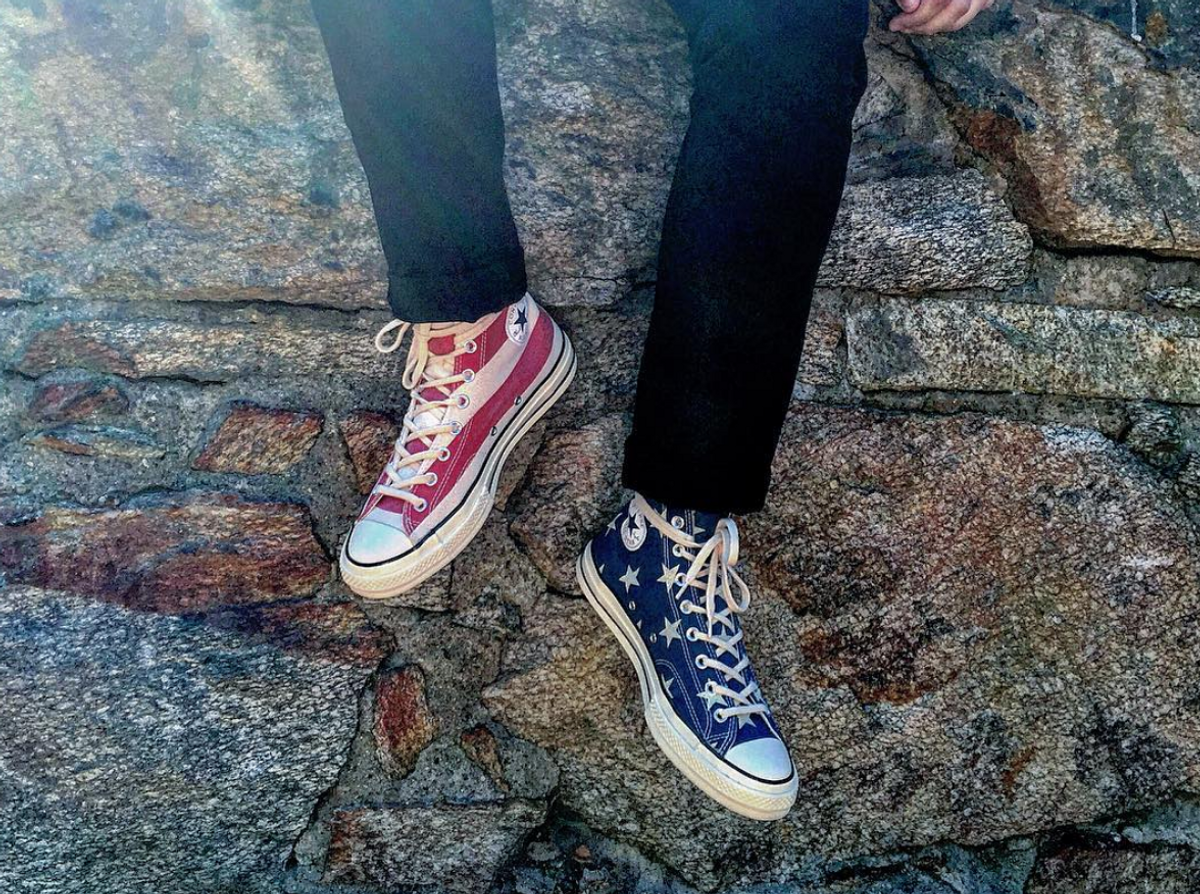 8 Reasons You Can't Go Wrong With A Pair of Converse, They Are The Heart And Sole Of My Shoe Collection