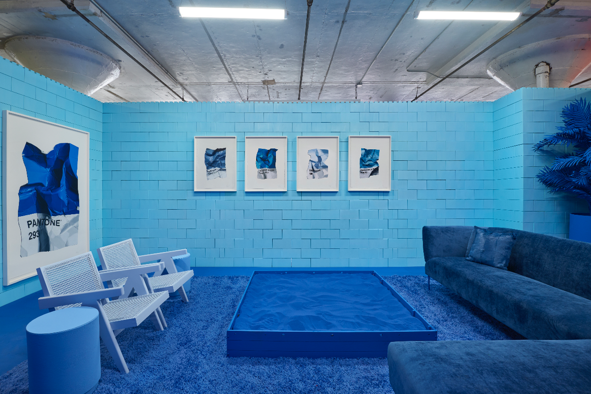 Embrace Your Blue Period with This 'MONOCHROME' Exhibit