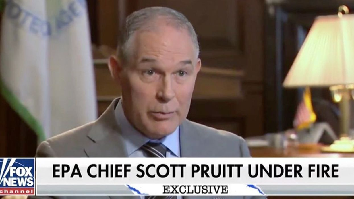 Fox News to Pruitt: Is Draining the Swamp Renting From a Lobbyist?