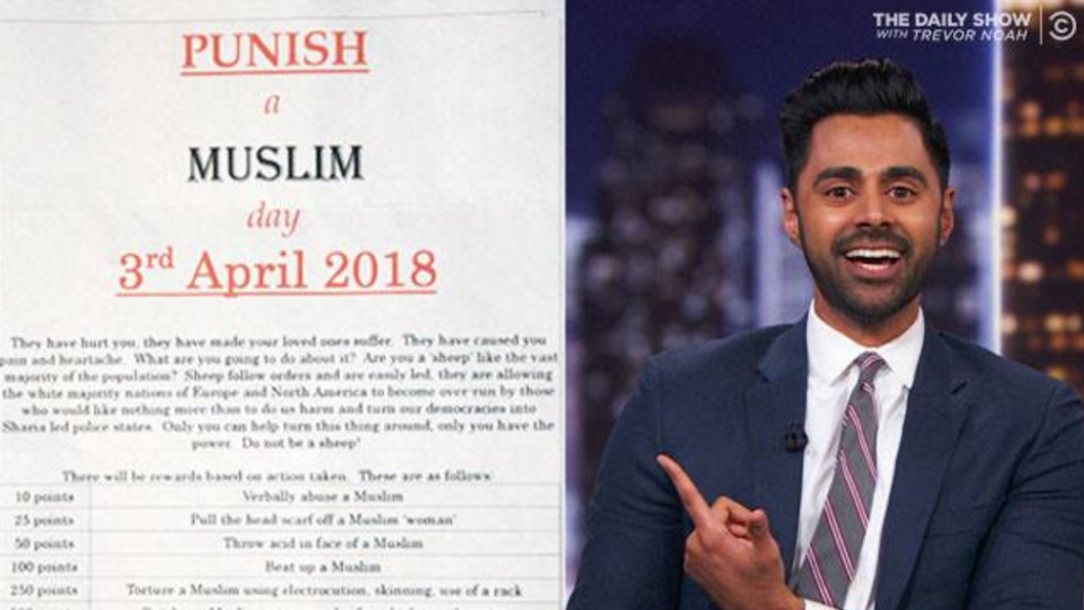 To Whoever Created 'Punish A Muslim Day,' Thank You For Showing Us Hate Will Never Win