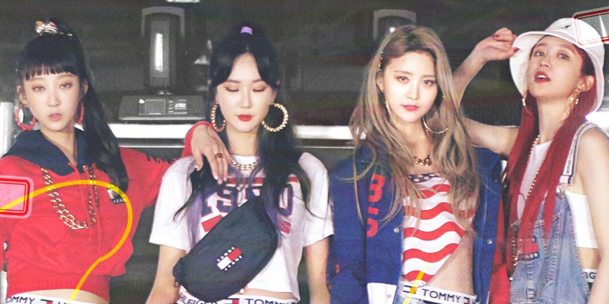 K-Pop Girl Group EXID Channels '90s Nostalgia In 'Lady'