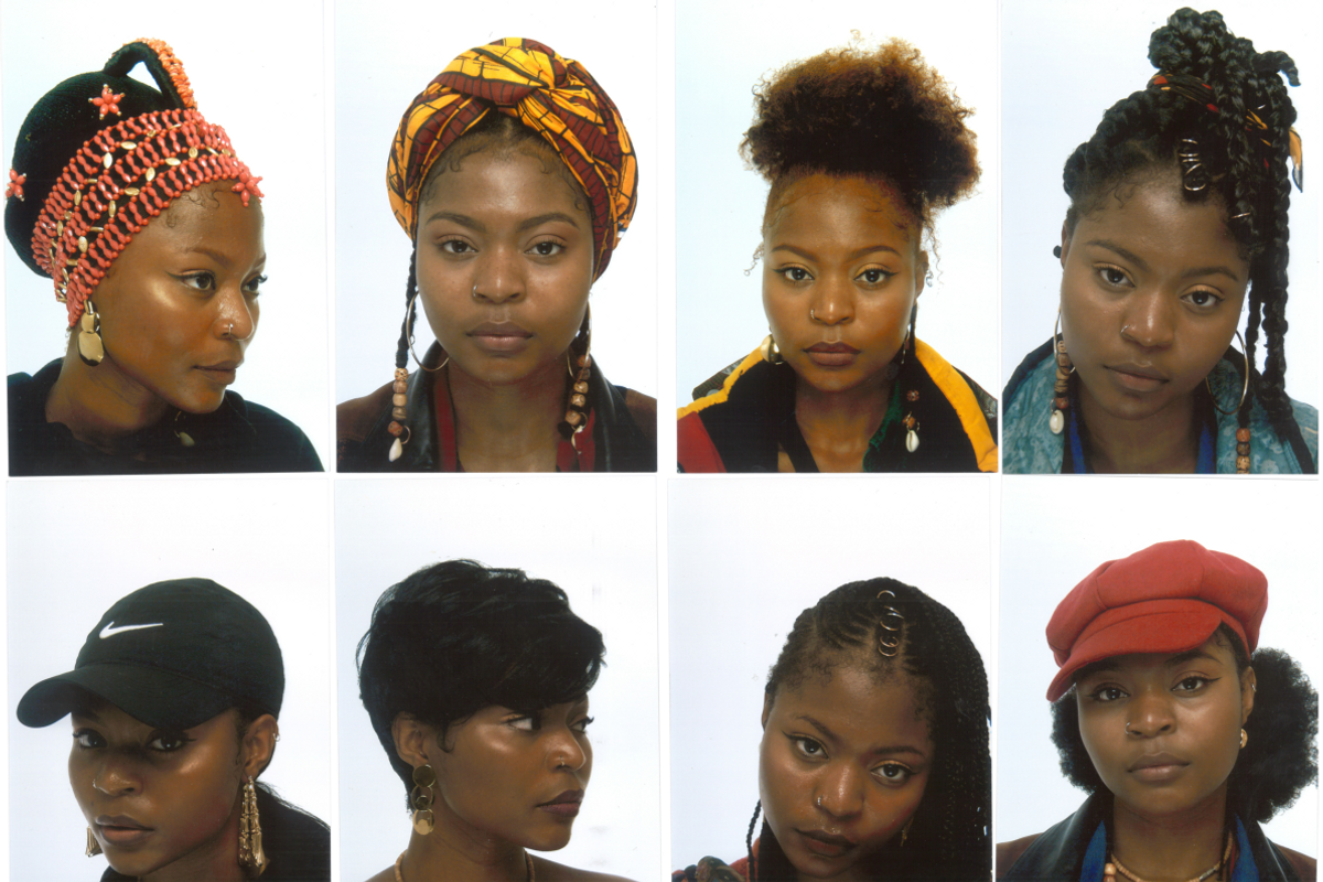 These Passport Photos Celebrate the Beauty of Black Hair