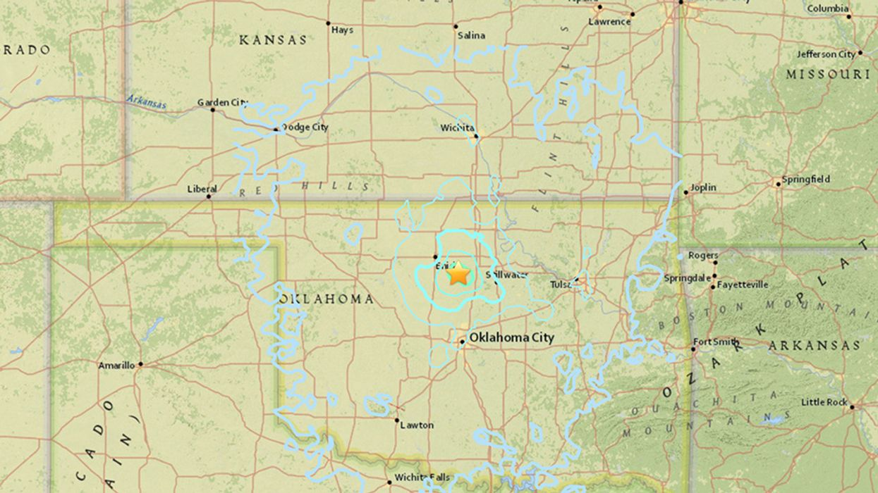 Four Earthquakes Rattle‬ Northern ‪Oklahoma in 24 Hours