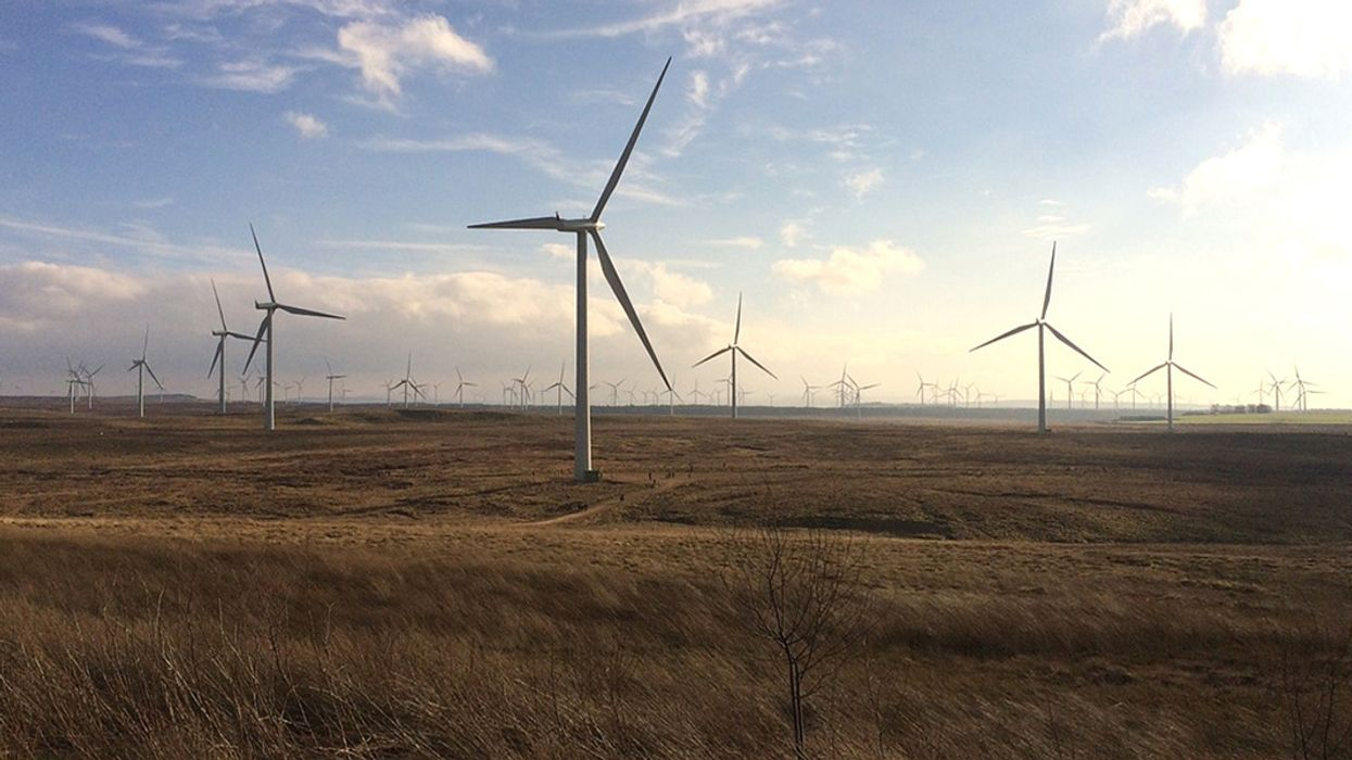 Scotland's Record-Breaking Wind Output Enough to Power 5 Million Homes