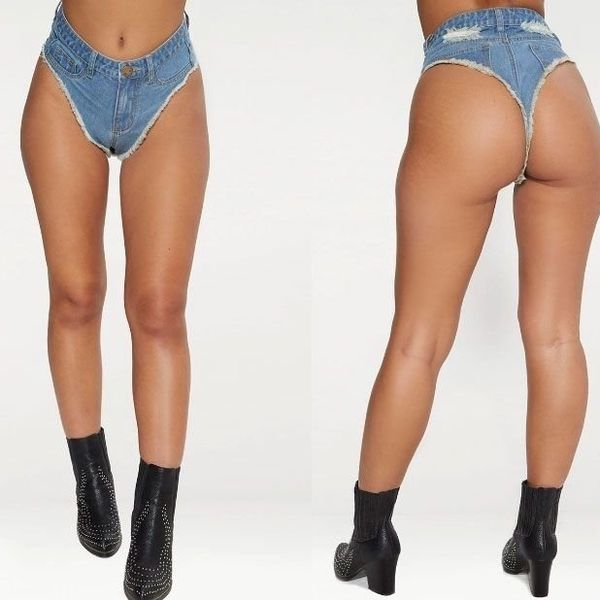 Your New Festival Must-Have Is a Denim Thong