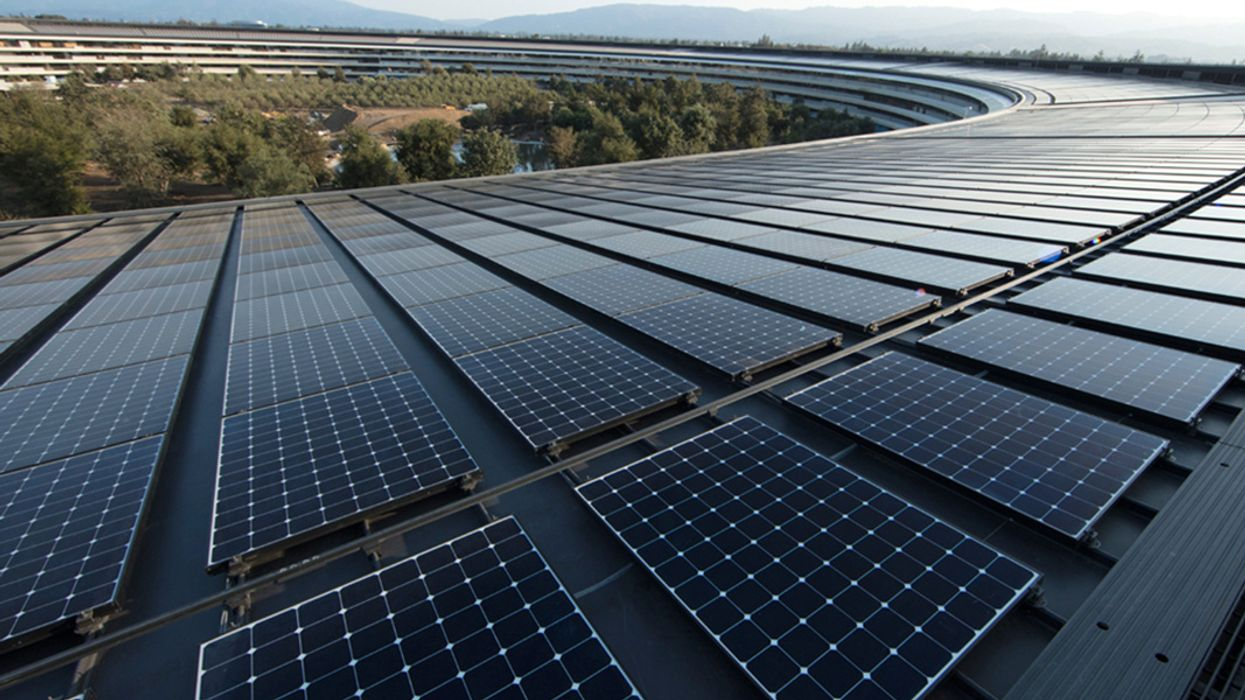 Apple Now Globally Powered by 100% Renewables