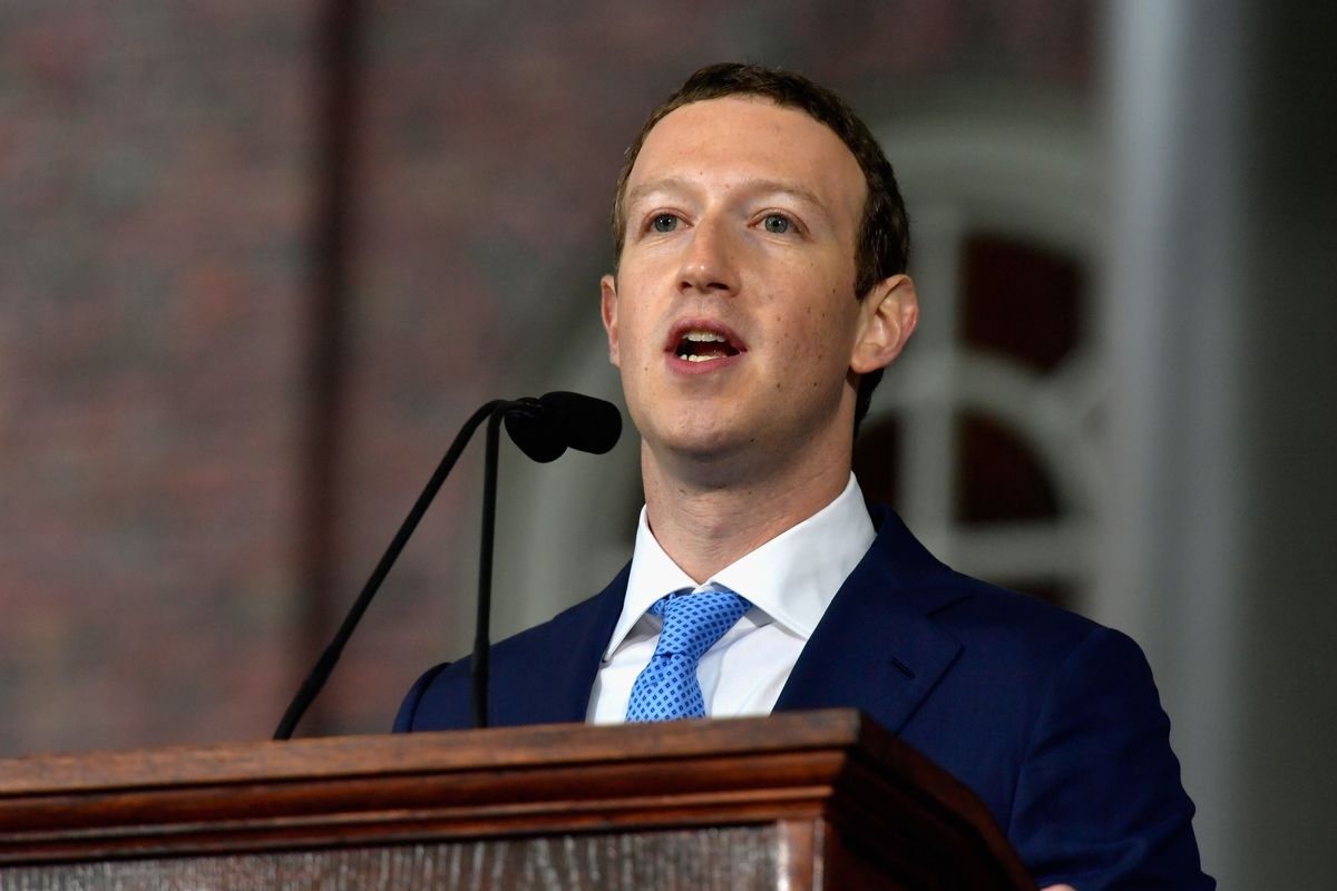 Facebook CEO Mark Zuckerberg Testifies on Capitol Hill About Data Hacking