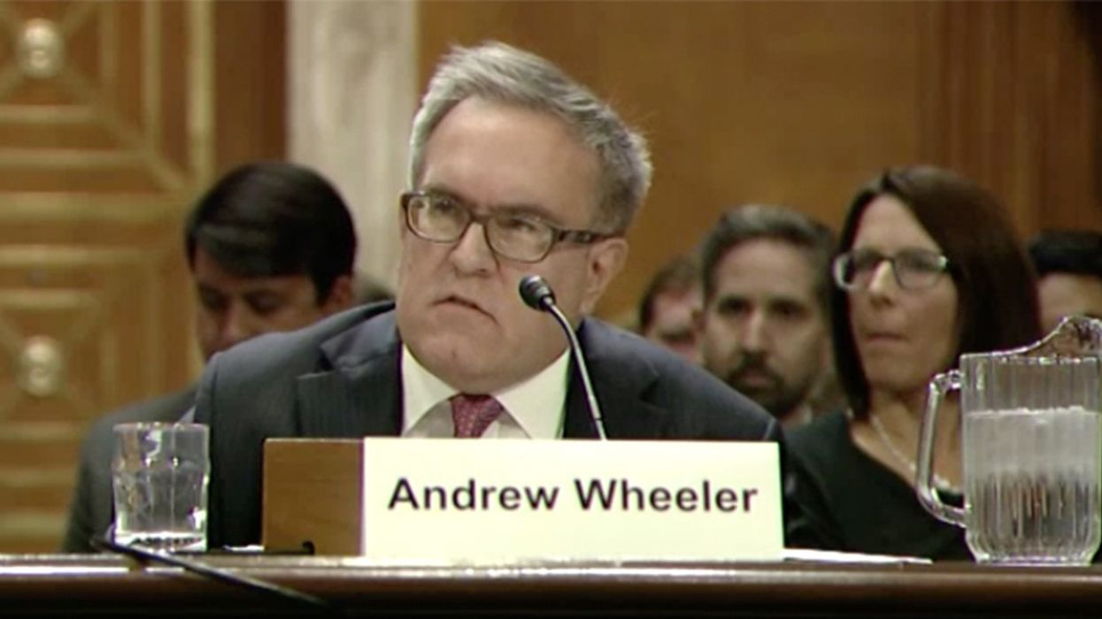 This Coal Lobbyist Could Head the EPA, and He May Be Worse Than Pruitt