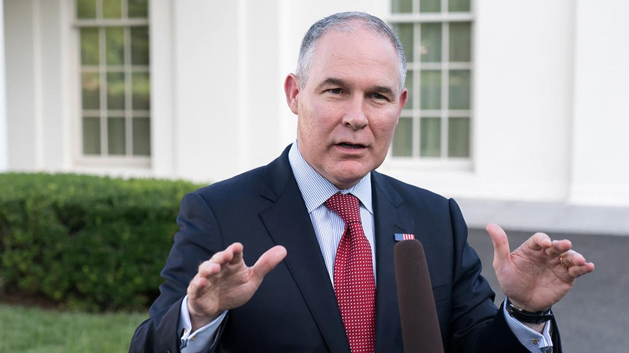 Scott Pruitt Has Betrayed the Mission, the National Interest and the Public Trust