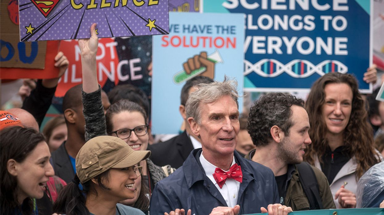 Standing Up for Science: More Researchers See Public Engagement as Crucial Part of Their Job