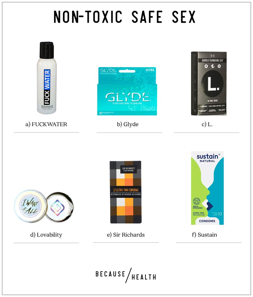 Roundup of 6 Non-Toxic Safe Sex Brands