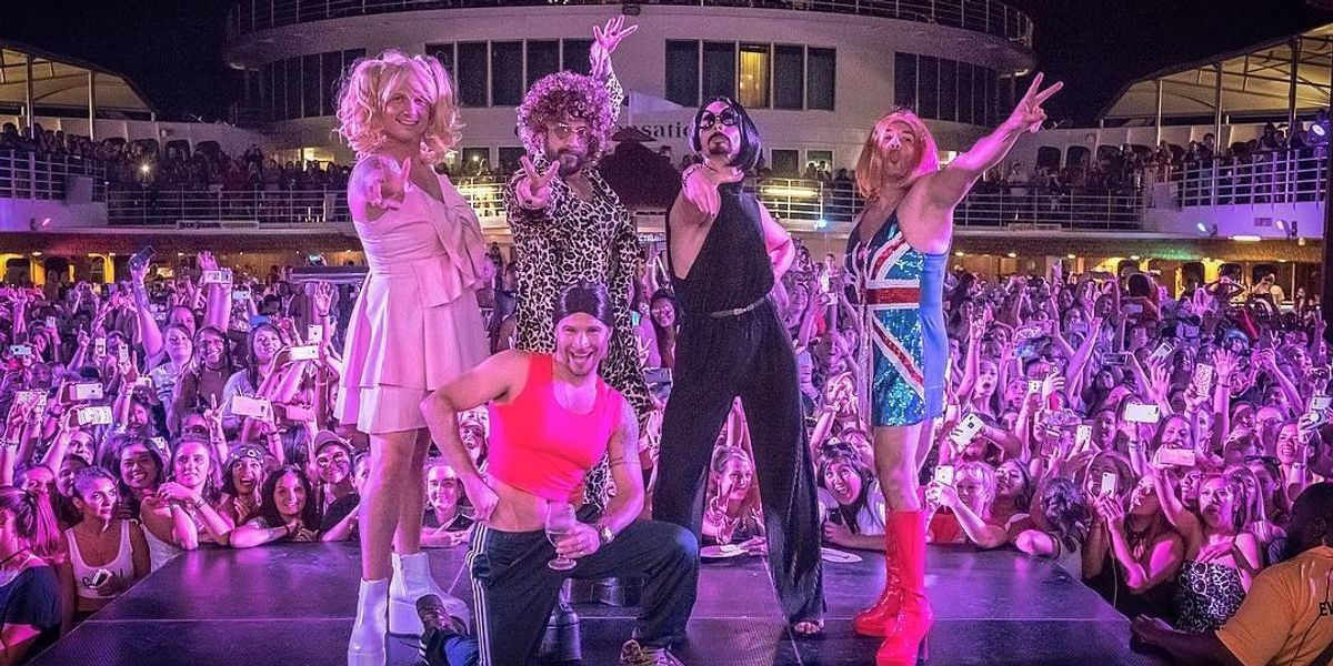 Watch the Backstreet Boys Lip Sync the Spice Girls in Spice Girls Drag