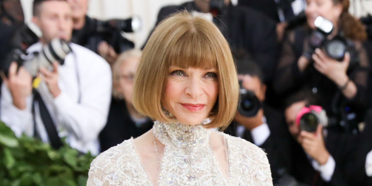 Anna Wintour Would Not Accept Any Met Gala Smoking This Year