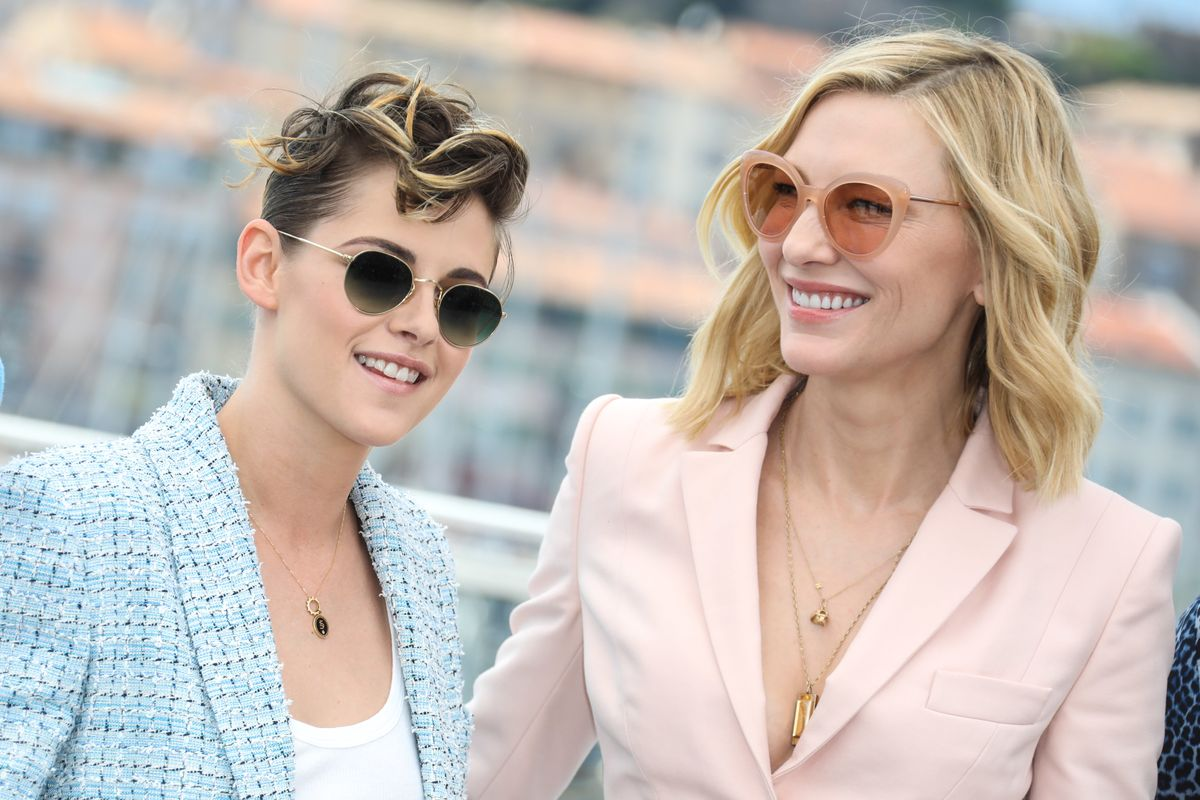 Kristen Stewart Gazing At Cate Blanchett Is a Very Big Mood