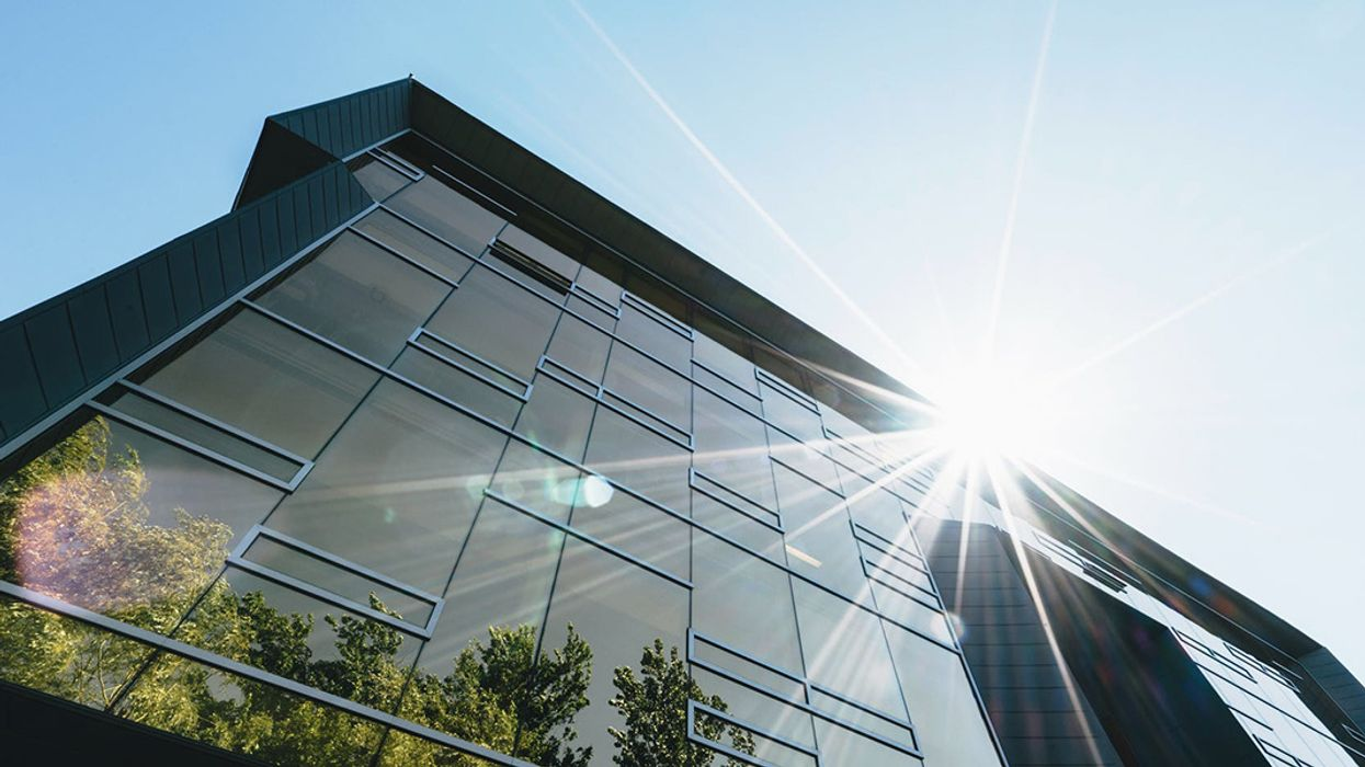 Smart Windows Could Combine Solar Panels and TVs Too