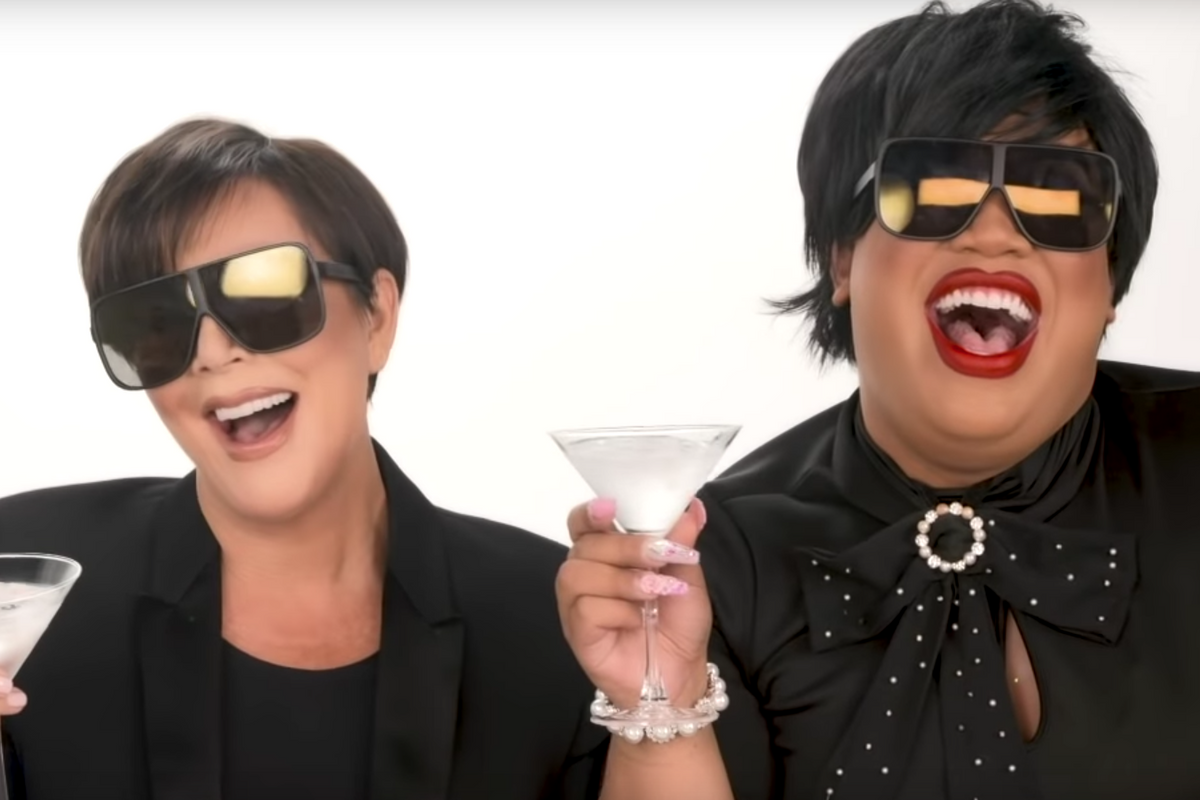 Kris Jenner's Patrick Starrr Makeover Is the Only Tutorial We Recognize