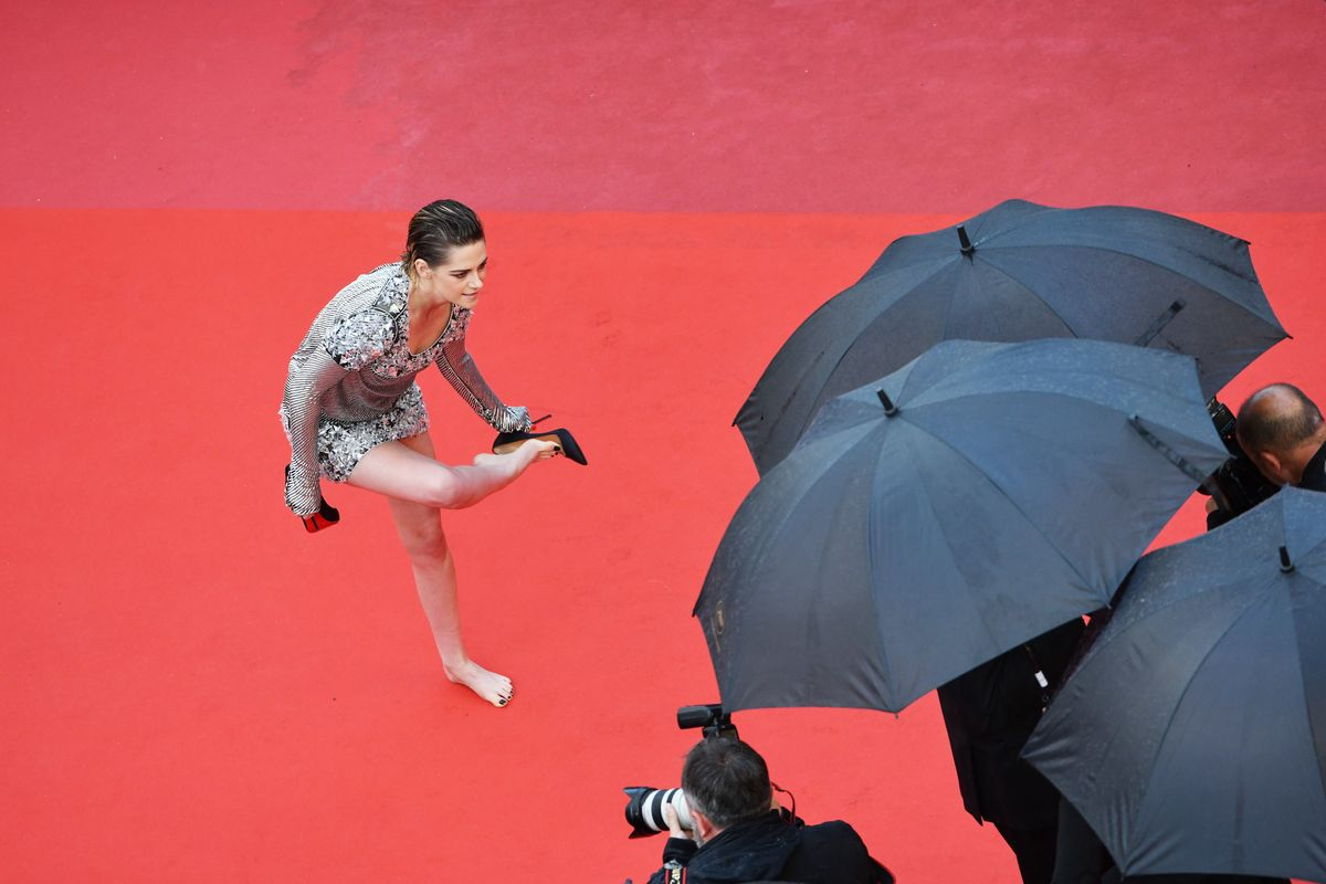 Kristen Stewart Couldn't Care Less About the Cannes Heels Policy