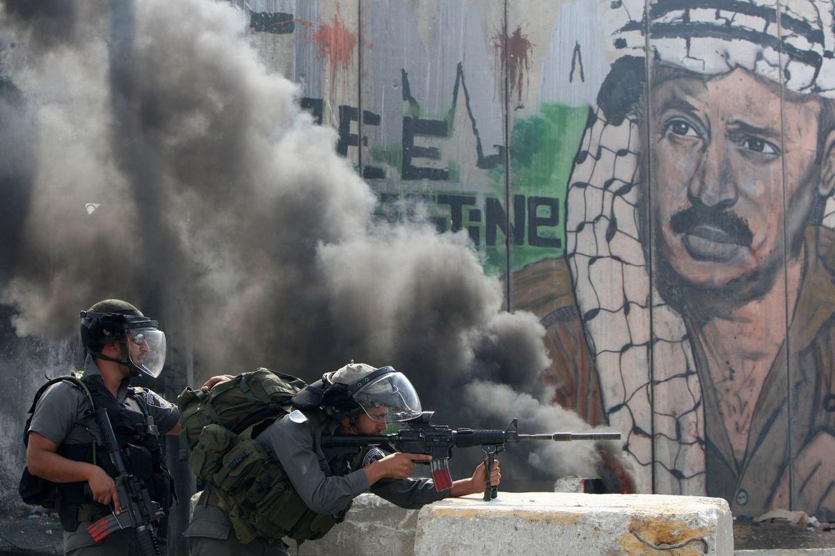 Fighting Breaks Out Between Israel And Palestine