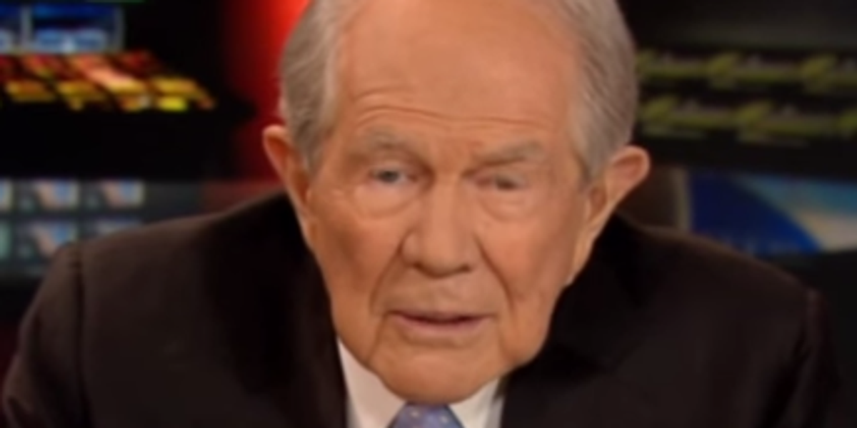 You're Off The Hook, China. Pat Robertson Says Stock Markets Crashing Because Of Abortion
