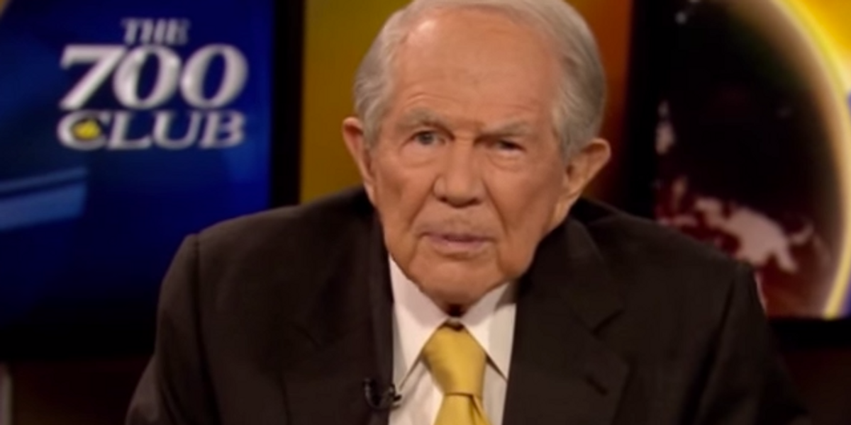Pat Robertson Swears Faith Healing Works For People Who Aren't Pat Robertson