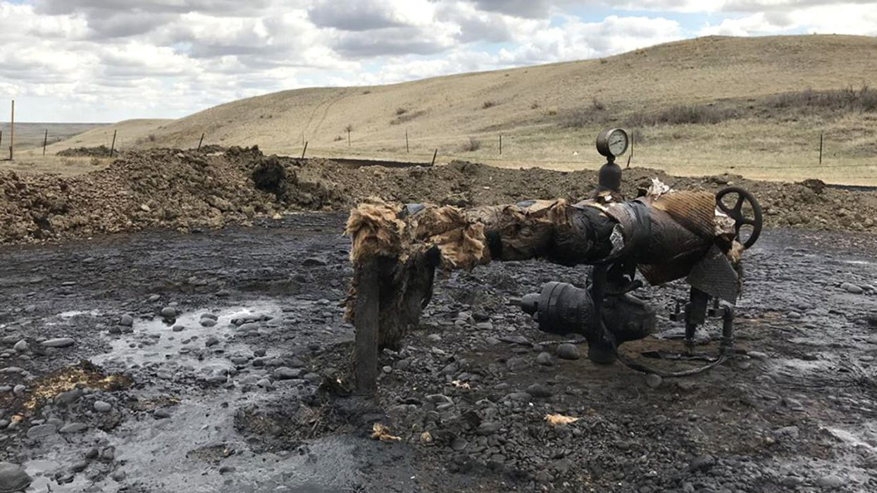 1,400 Tons of Contaminated Soil Hauled From Montana Reservation Oil Spill Site