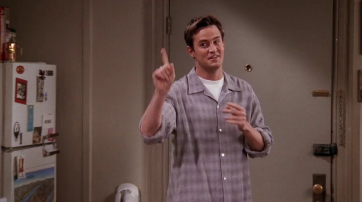 The Month Of May For College Students, As Told By Chandler Bing