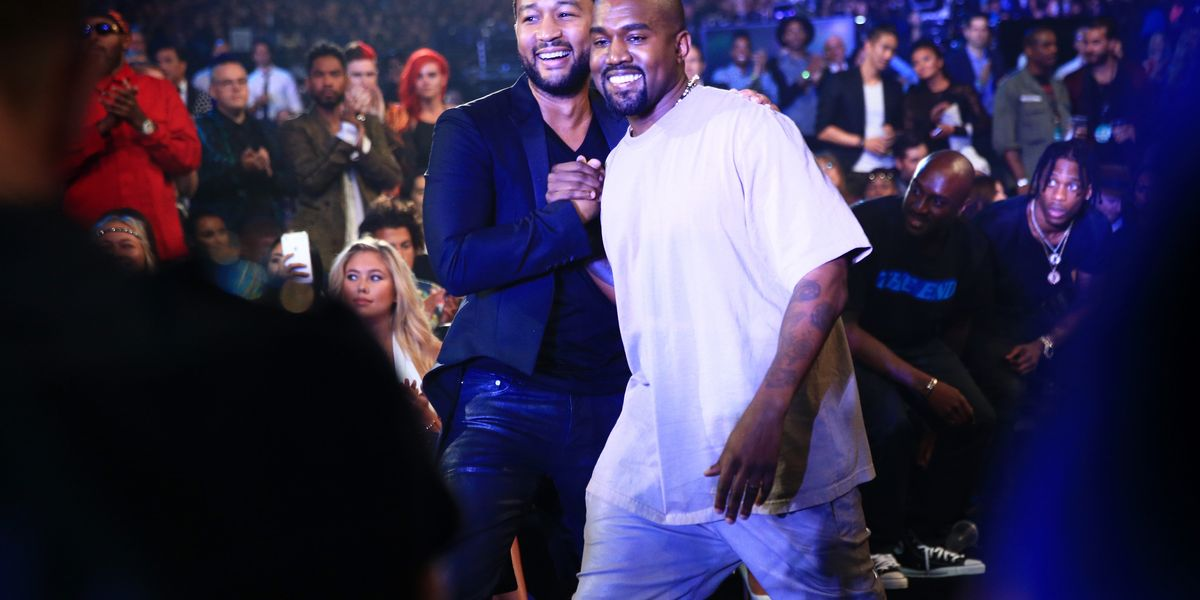 John Legend and Kanye are Cool