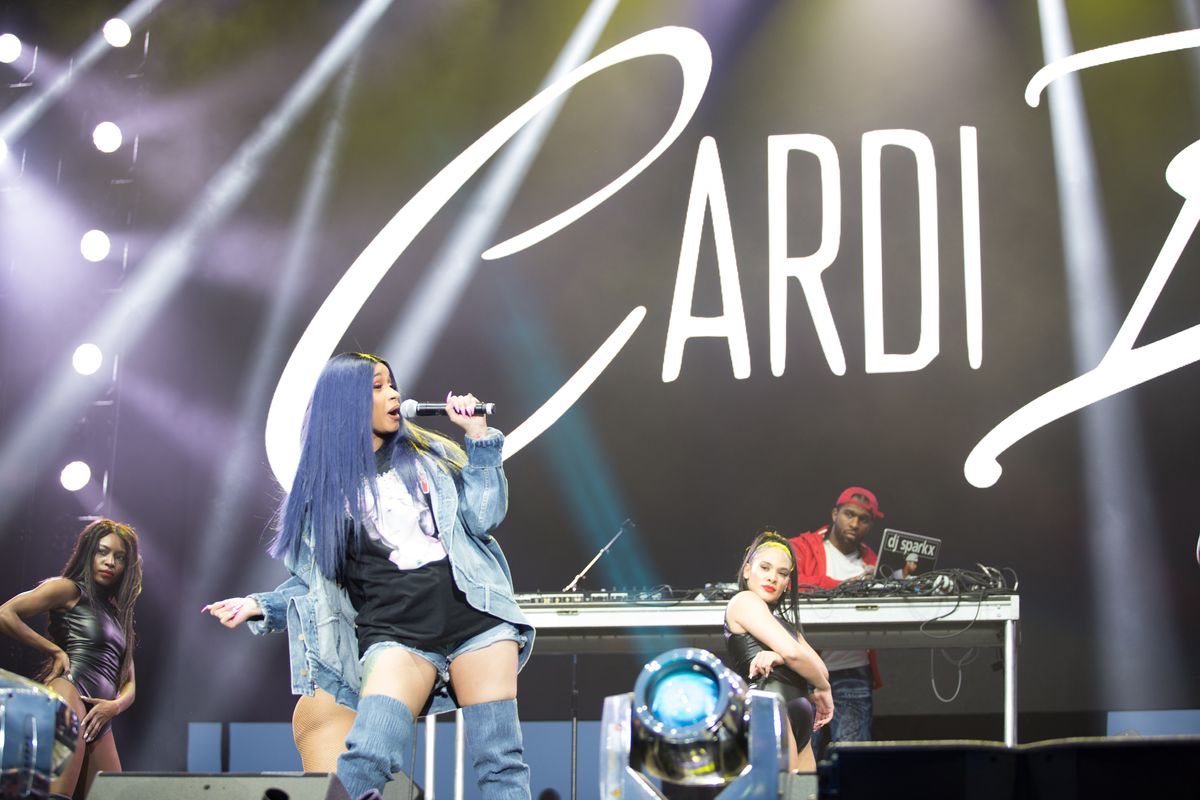 Cardi B Performs Her Last Set Pre-Maternity Leave at Broccoli Fest