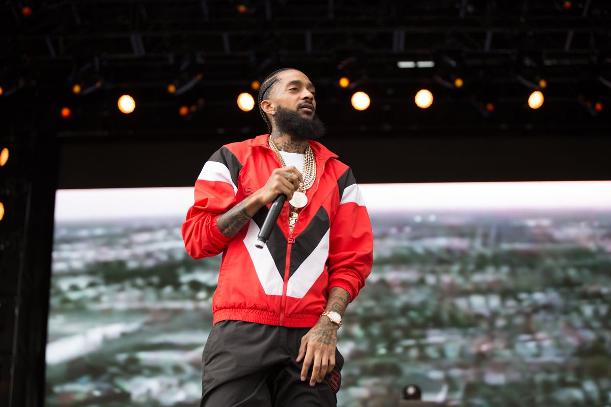 Nipsey Hussle Calls Out Kanye West at Broccoli Fest