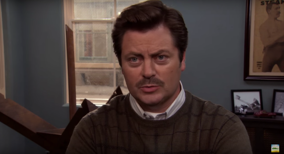 The End Of College As Told By Ron Swanson